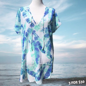 Sheer Swimsuit Coverup Beach Pullover Lightweight